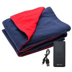 Portable Heated Rug with Power Bank
